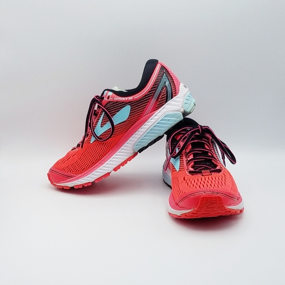 Brooks Ghost Running Shoes Sneakers Red